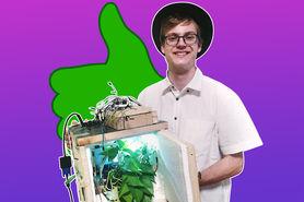 Bau einer vollautomatischen Maschine zur Untersuchung von Pflanzen
